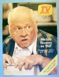 Tv Week December 20-26, 1981 Mickey Rooney As Bill