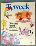 Tv Week January 21-27, 1996 Test Tube Toons