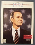 Republican Convention Official Program - 1992
