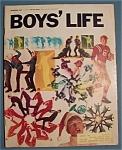 Boys Life Magazine-december 1967-johnny Unitas