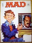 Mad Magazine July 1973 Alfred E. Neuman & Television