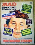 Mad Magazine Special #6 1971 Mad Mischief Stickers
