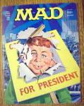 Mad Magazine #185 September 1976 Alfred For President