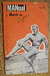 Manual Magazine-march 1960-mike Sill (Gay Interest)