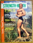 Strength & Health Magazine-march 1961-red Lerille