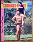 Strength & Health Magazine-august 1960-tommy & Caroline