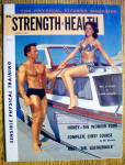 Strength & Health Magazine-august 1961-bill & Lana