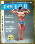 Strength & Health Magazine-january 1962-ray Routledge