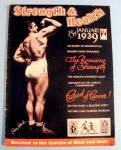 Strength & Health Magazine January 1939 Steve Stanko
