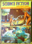 Science Fiction Adventure Magazine May 1954 Rule Golden