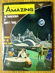 Amazing Stories Magazine August 1964 The Honeyearthers