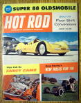 Hot Rod Magazine January 1960 Drag Racing & Fancy Cams