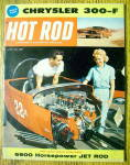 Hot Rod Magazine April 1960 Jet Rod (6900 Horsepower)