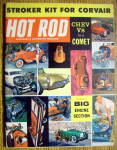 Hot Rod Magazine August 1960 Chevy 8 In A Comet