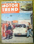 Motor Trend Magazine July 1952 Lincoln Continental