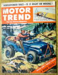 Motor Trend Magazine October 1952 Cars For Sportsmen