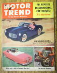 Motor Trend Magazine December 1952 Fbi Exposes Thieves