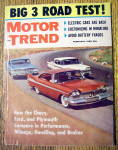 Motor Trend Magazine February 1959 Big 3 Road Test