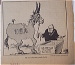 Political Cartoon - March 25, 1946 Churchill