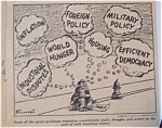 Political Cartoon - May 20, 1946 World Problems