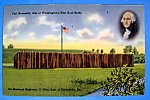 Fort Necessity Postcard-washington First Battle Site