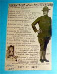 Advantages Of The Smutty Story Postcard With Soldier