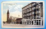 Juneau Hotel, Milwaukee, Wis Postcard