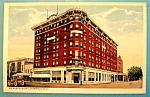 Mc Kenzie Hotel, Bismarck, N. D. Postcard