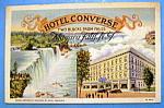 Hotel Converse, Niagara Falls, N.y. Postcard