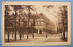 Paris -l Hotel Continental Postcard