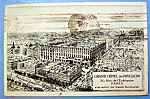 Grand Hotel Du Pavillon, Paris Postcard