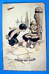 Hoops My Dear Postcard