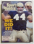 Sports Illustrated Magazine -nov 22, 1993 -jim Flanigan