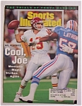 Sports Illustrated Magazine -jan 24, 1994- Joe Montana