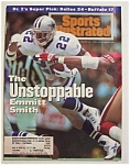 Sports Illustrated Magazine -jan 31, 1994- Emmitt Smith