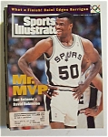 Sports Illustrated Magazine-mar 7, 1994-david Robinson