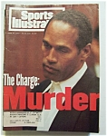 Sports Illustrated Magazine-june 27, 1994-o. J. Simpson