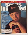 Sports Illustrated Magazine-may 1, 1995-cal Ripken Jr