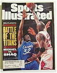 Sports Illustrated Magazine -may 22, 1995- Michael/shaq