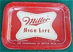 Miller High Life Brewery Tip Tray