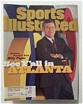 Sports Illustrated-january 8, 1996-billy Payne
