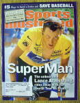 Sports Illustrated Magazine August 5, 2002 L. Armstrong