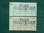 City Ice & Fuel Moundsville Wv Coupon Books
