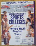 Sport Illustrated Magazine October 7, 2002 Colleges