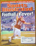 Sports Illustrated Magazine October 21, 2002 Football
