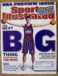 Sports Illustrated Magazine October 28, 2002 Yao Ming
