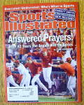 Sport Illustrated Magazine November 4, 2002 Prayers