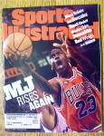 Sport Illustrated Magazine June 15, 1998 Mj Rises Again
