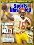 Sport Illustrated Magazine-november 28, 1988 R. Peete