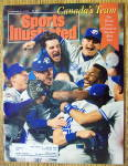 Sport Illustrated Magazine November 2, 1992 Canada Team